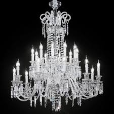 cima large venetian crystal chandelier 10 10 lights transpa