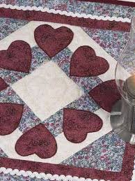 88 best Free Applique & Embroidery Patterns images on Pinterest ... & Free Square of Hearts Quilt Pattern -- Download this free applique quilt  pattern from FreePatterns Adamdwight.com