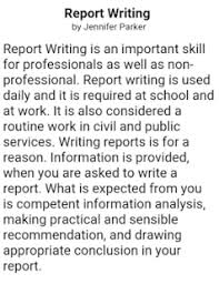 write a report how to write a report apk download from moboplay