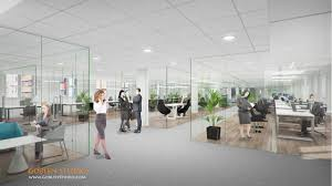 office space architecture. Office Space Architecture. Architectural Rendering Of Commercial Architecture R O