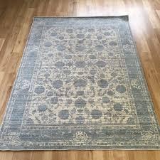 aqua silk rug e414a grey light blue 160 x 250 cm 5