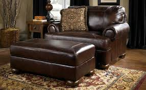 photo 3 of 6 living microfiber chair and a half with ottoman room chair and a half cindy crawford calista