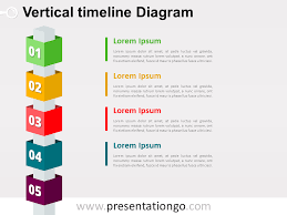 timeline   the free powerpoint template libraryfree vertical timeline cubes powerpoint diagram