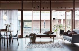 modern cottage interior design ideas. classic dining zone setting with modern cottage interior design tips. trends and features 2017. panoramic windows at the first ideas