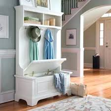 Entry Hall Bench With Coat Rack Impressive Hall Tree Entry Bench Coat Rack Aliciarubio