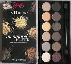 eyeshadow palette sleek i divine au naturel palette
