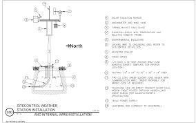 weather station model worksheet. weather station installation. dwg · dxf jpg model worksheet