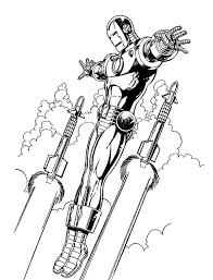 The collection is varied with different skill levels and. Iron Man Flying Coloring Page Iron Man Drawing Iron Man Comic Man Thing Marvel