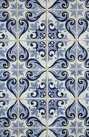 Blue Patterned Tiles