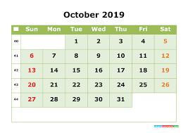 printable calendar month october 2019 printable calendar month by month calendar template