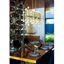 jonathan adler meurice rectangular chandelier antique brass