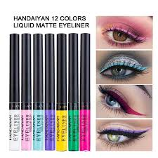 Online Shop <b>HANDAIYAN</b> Matte <b>Liquid</b> Eyeliner Bright <b>Color</b> ...