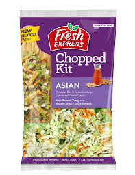 Pre package asian salad