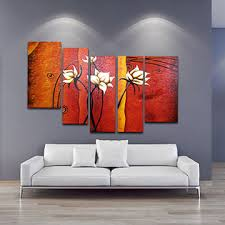 wall paintings for office. China Hand Painted Flower Canvas Oil Painting Wall Art Home Decoration Office Decor Paintings For