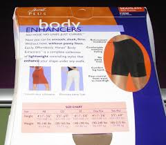 Hanes Mid Thigh Seamless Body Enhancers Nude Firm Control Size One Plus New
