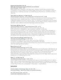 Visual Merchandising Manager Resume Resume Visual Merchandiser