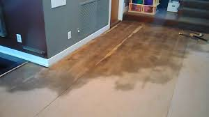 water damage repair with bamboo floating floor andover ma