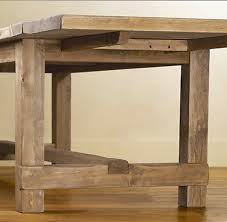 dining table leaf hardware: copy the farmhouse extension table plans from restoration hardware quot table quot