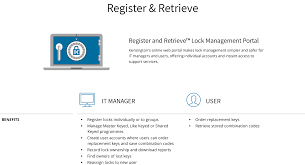Register Retrieve Program Kensington
