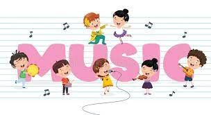 Move to music 2 clip art bundle {educlips clipart}. Vector Illustration Of Children Music Background Stock Vector Illustration Of Choir Kids 146683585