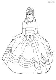 Imagenes de vestidos de mezclilla con botas Dibujos De Princesas Para Colorear Imagenes De Princesa Para Colorear