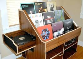 vinyl record furniture. Vinyl Records Storage Furniture The Maritime Record With Bookcase Decor From Shelf Diy R