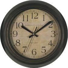 allen roth og round indoor wall clock