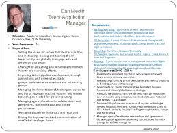 2 dan medlin talent acquisition manager - Talent Acquisition Manager Job  Description