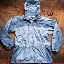Women S Light Windbreaker Jacket Columbia Womens Light Blue Windbreaker Jacket Size Medium Ebay