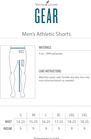 Men's Athletic Shorts – Young Living Gear