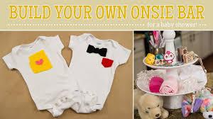 Design Your Own Baby Onesie Baby Shower Build Your Own Onesie Bar Diy Thegoodwillgal