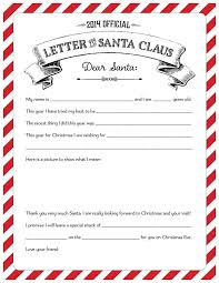 Official Letters From Santa 2014 Best Template Collection