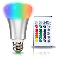 led light with remote control timing remote controller color changing led light bulb wireless cordless ceiling