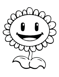 Plants Vs Zombie Coloring Page Plants Vs Zombies 2 Coloring Pages
