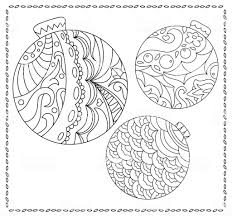 Volwassene Of Tiener Kleurplaat Met Kerstmis Of Nieuwjaar Doodle