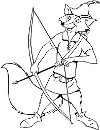Fox The Robin Coloring Pages Foxes For Malachi Coloring Pages