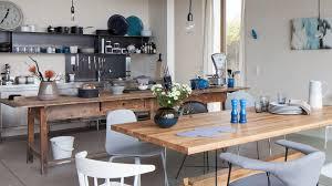 Werkbankartiger Tisch statt Kücheninsel Sommer Küche