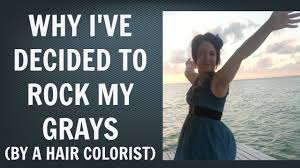 Going Gray - How to Use Color Analysis and Other Questions to Ask to Decide  to Go Gray | Go Grey - YouTube