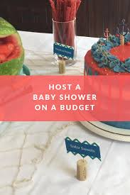 Baby Showers On A Budget Baby Shower On A Budget Frugal Girl Solutions