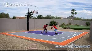 home basketball court design. Home Basketball Court With Artificial Grass Putting Green Design