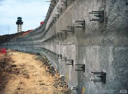 rening walls at dallas fort worth international airport secured with dywidag soil nails
