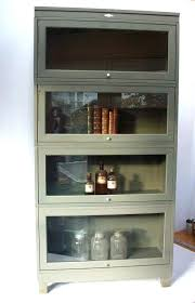 metal and glass bookcase reserved for vintage bookcase metal lawyers barrister style with glass front doors metal and glass bookcase