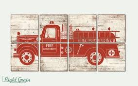 permalink to stylish fire truck wall decor 2018