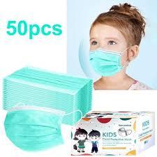 Fancystyle <b>10Pcs Kids 3</b>-layer <b>Disposable</b> Anti Haze Dustproof ...