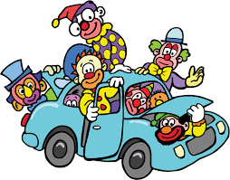 Image result for clowns in a car meme