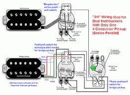 dvm s humbucker wiring mods page of  3 4 wiring mod series parallel version acircmiddot
