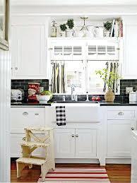kitchen window above sink via better homes gardens kitchen sink window coverings