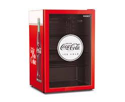 husky 110l coca cola glass door bar