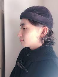 ショートボブ 帽子が似合う モード アウトドアhair Salon Rita 大木