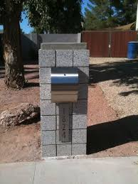 modern curbside mailbox. Modern Stainless Mounting Curbside Mailbox With Address Plaque Locking Or NonLocking Available Wwwmailboxmdcom To
